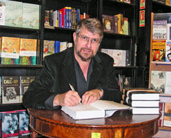 Book signing at Hatchards in London