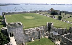 The Roman 'Saxon Shore fort' at Portchester, Hampshire