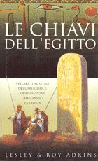Italian edition of 'The Keys of Egypt'