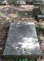 Captain Broughton's Gravestone.