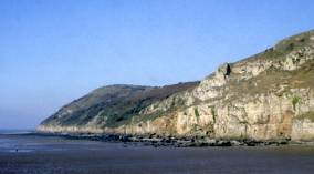 Brean Down from the west