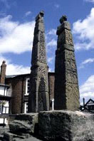 The Sandbach crosses