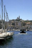 The old port at Marseilles, now a marina