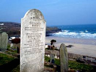 The Short family gravestone, Barnoon Cemetery, St Ives, Cornwall