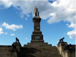 The Collingwood monument at Tynemouth