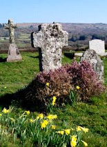 The Grave of Beatrice Chase at Widecombe