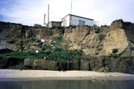 Coastal erosion at Happisburgh, Norfolk