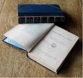 The 1861 two-volume 2nd edition of 'The Autobiography of a Seaman' by Thomas Cochrane, Tenth Earl of Dundonald