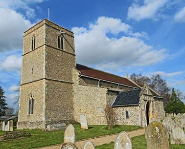 The Church Of All Saints at Weston Longville