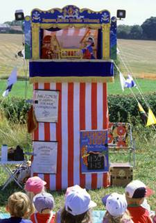 A modern Punch and Judy show