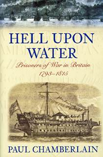 The front cover of 'Hell Upon Water'