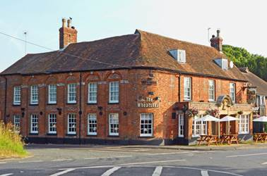 The Wheatsheaf Inn at North Waltham in Hampshire