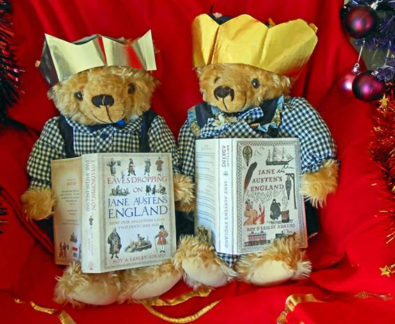 Ideal Christmas gifts (the books, not the bears...)