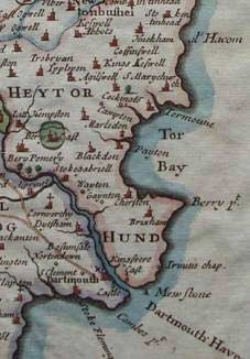 Torbay and Brixham in 1695