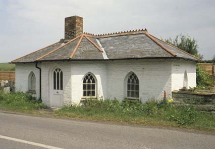 A Tollhouse at Muchelney in Somerset