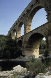 Pont du Gard Roman bridge and aqueduct, Provence