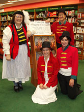 The staff at Torquay's Waterstones
