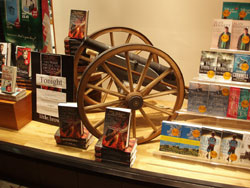 Window display at Waterstones in Torquay