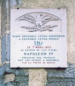 Grenoble Plaque