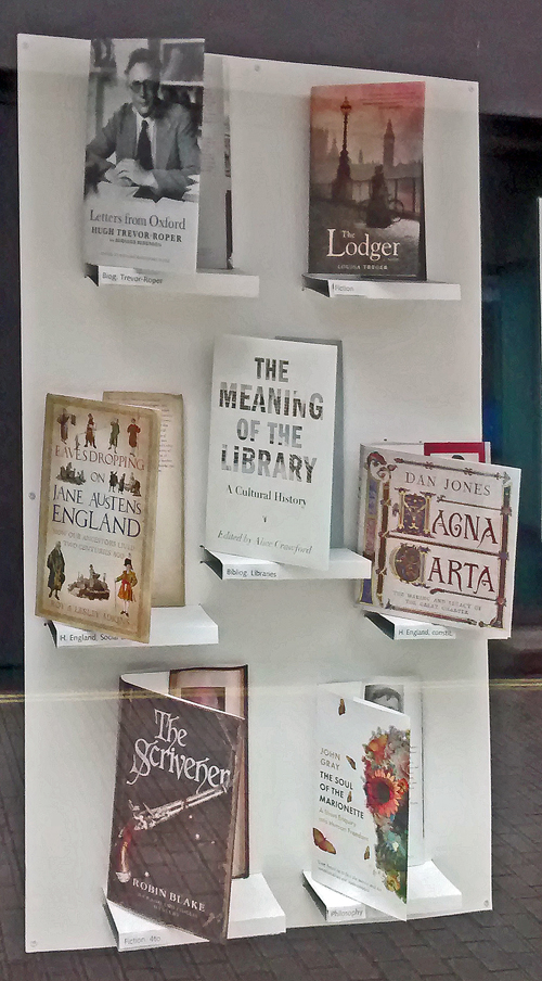 London Library display