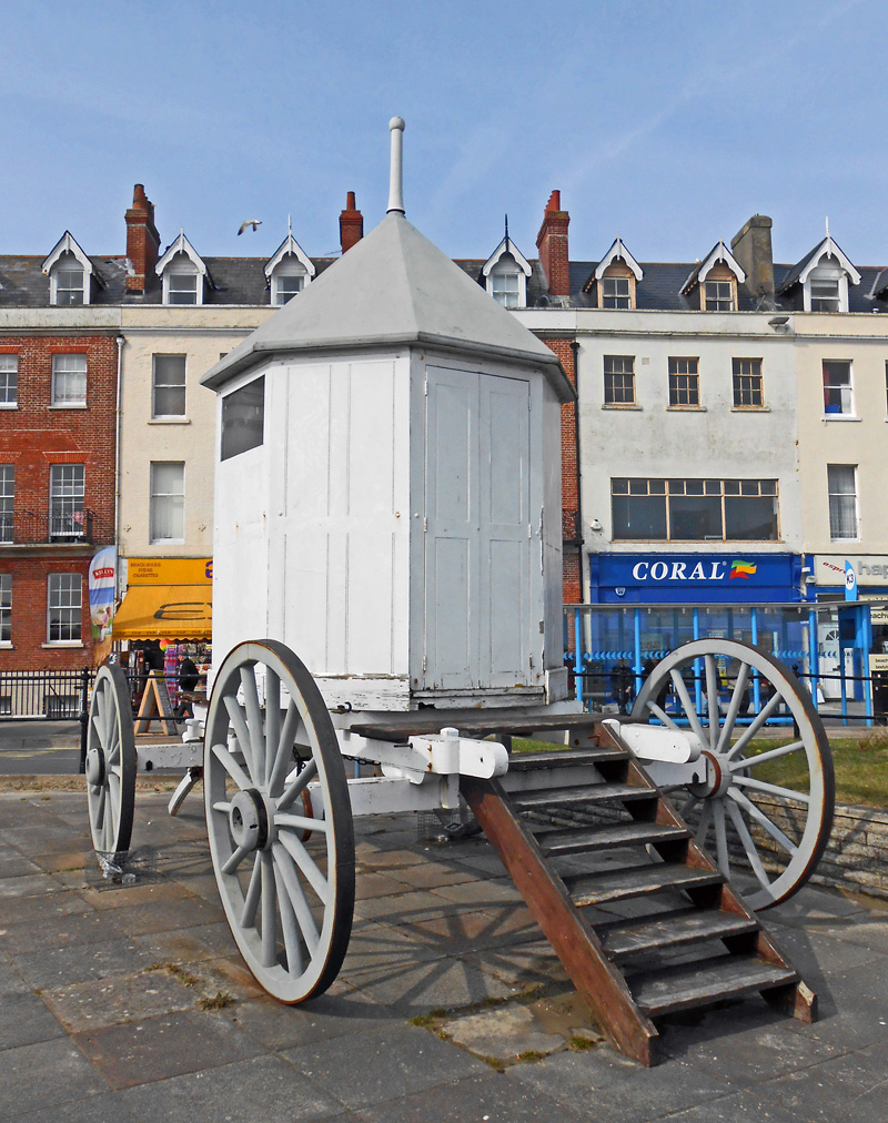 Bathing machine, Weymouth