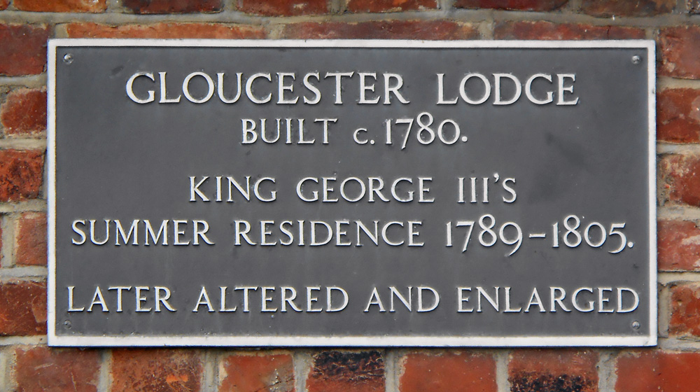 Gloucester Lodge, now Hotel