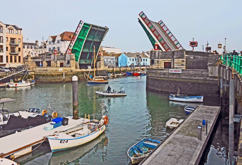 Town bridge, Weymouth